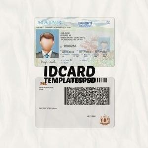 maine driver license psd