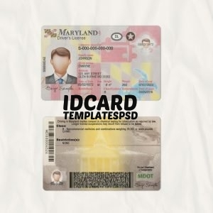 Maryland drivers license