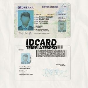 Montana drivers licence