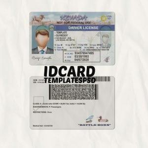 Nevada Drivers Licence