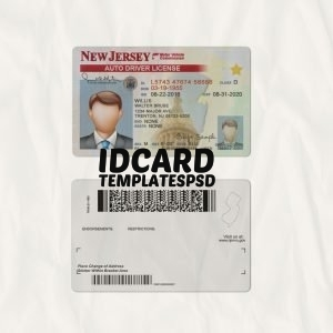 New-Jersey Drivers Licence
