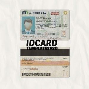 minneosta drivers license psd